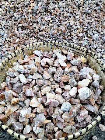 Kamień ogrodowy Grys różowy.Promocja!!
