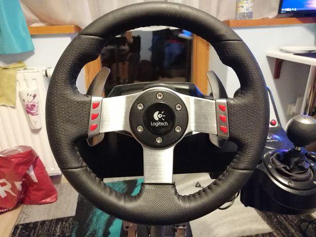 Kierownica Logitech G27 + stojak Wheel Stand Pro