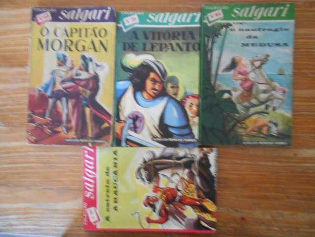 Livros de Aventuras da Colecção Salgari