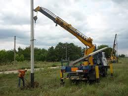 Монтаж кабеля СІП , ЛЕП (6-10 кВт.) .