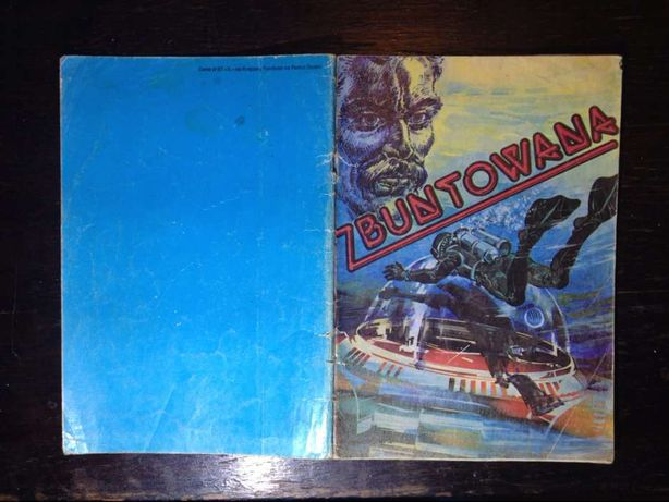 Zbuntowana wyd. I 1986 Warszawa komiks