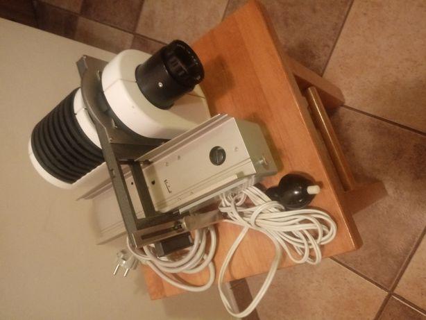 Projektor slajdów Pentax h50 z mechanicznym podajnikiem