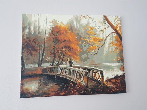 Obraz na płótnie jesień dekoracja wnętrz