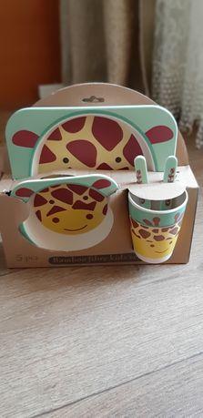 Набор эко-посуды для ребенка