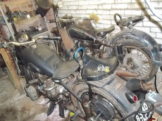 запчастини від мотоцикла іж49,іж56,к750,м72,мінск