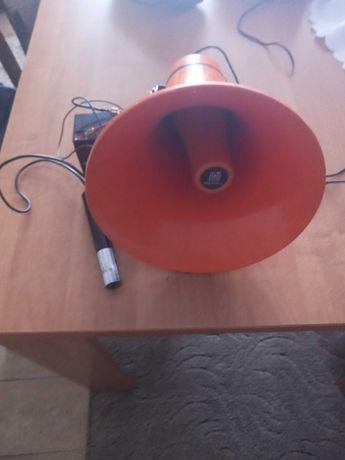 Megafon Tonsil z mikrofonem