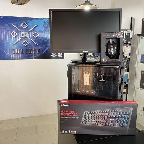 Pc Gaming - Monitor - Teclado e Rato gaming - Setup Gaming