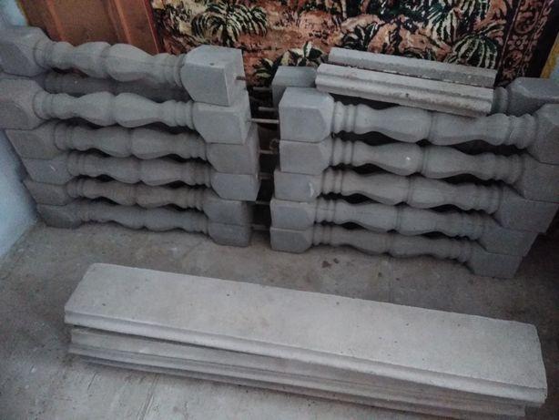 Балясини бетонні