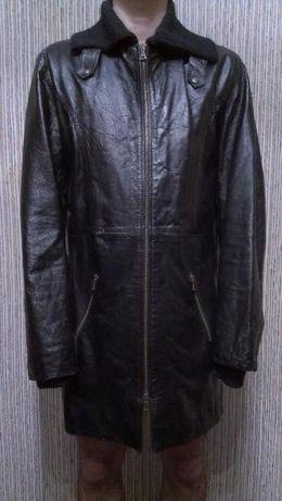Мужское пальто (кожа) Италия Размер М - L