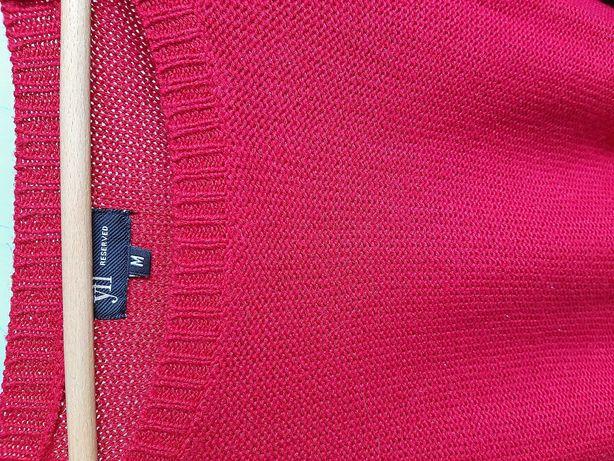 Sweterek malinowy