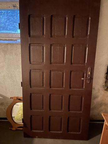 Drzwi drewniane dębowe