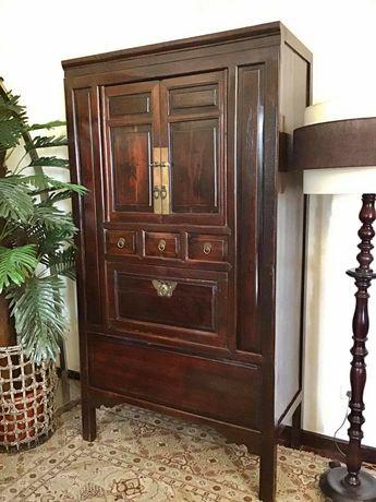 armario, aparador, louceiro, oriental, chines, rustico