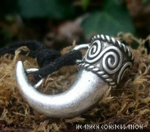 Colar Corno de beber Viking - Fio + Caixa - Novo - martelo Thor Odin