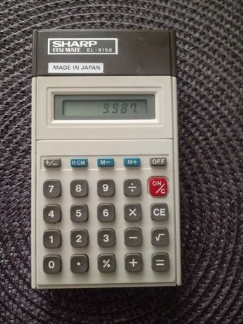 Kalkulator sharp prl zabytek
