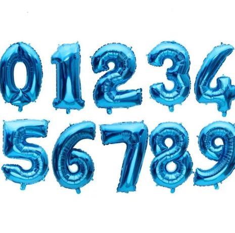 Святкові кульки цифри