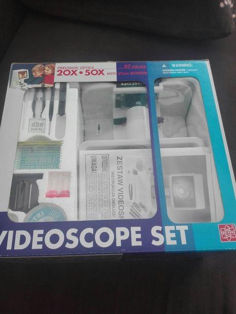 Mikroskop videoscop-Set z USA (20X, 50X) świetny prezent
