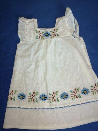 Sukienka dziewczęca r. 98