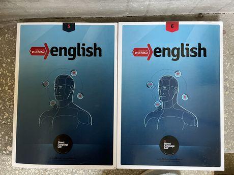 Książki do angielskiego Dorect method 5 i 6