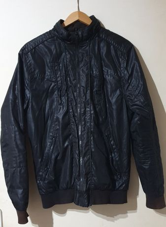 H&M Kurtka czarna młodzieżowa męska 140-160 cm stan idealny rozm. S