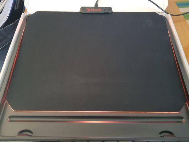 Podkładka pod myszkę A4 Tech Bloody RGB MP-60R, Gaming, Super Stan