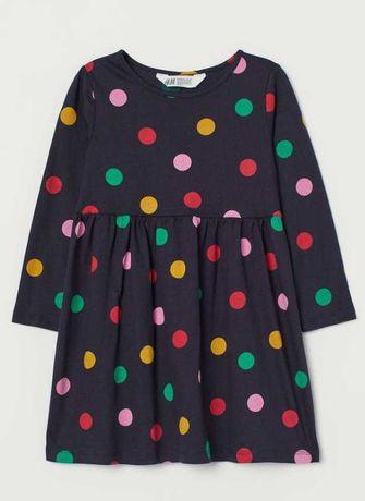 Новое детское платье  H&M рост 110-116, 4-6 лет