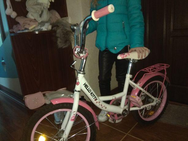Детский велосипед на 4-6 лет