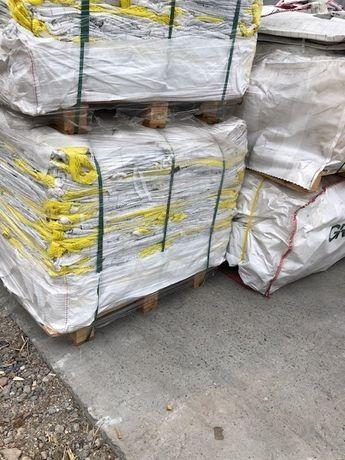 Worki Big Bag Białe czyste 90/90/135 cm do kruszyw/kostki granitowej