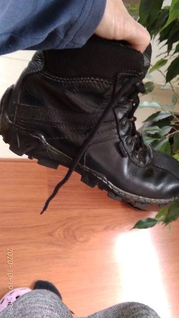 Super wygodne skórzane buty trekkingowe Contes