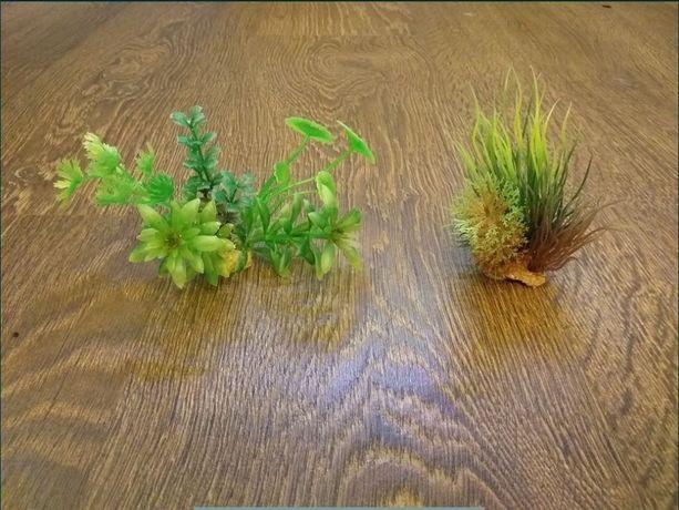 Zestaw sztucznych roślin do akwarium
