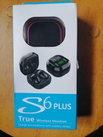 Słuchawki True wireless headset s6 plus