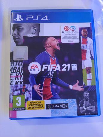 FIFA 2021 PS4 (como novo) pode experimentar.