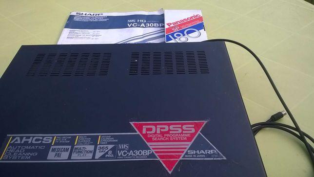 magnetowid kasetowy VHS Sharp