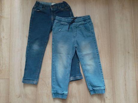 Spodnie 2 pary r. 110 Reserved