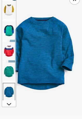 Реглани футболочки next 2-3 роки 98 розмір
