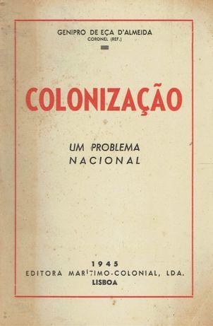 3531 Colonização : um problema nacional / de Genipro de Eça Almeida.