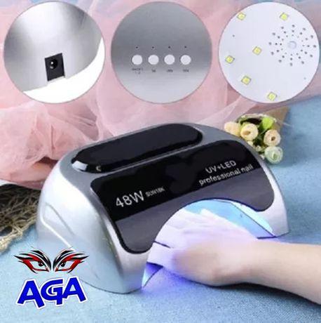 Lampa UV LED Do Paznokci 2W1 +CCFL 48W Timer+Sensor