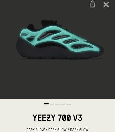 Yeezy 700 dark glow
