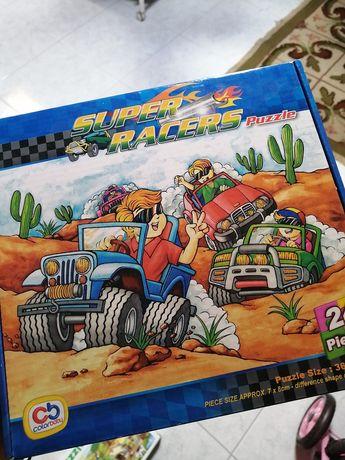 Puzzle super racers