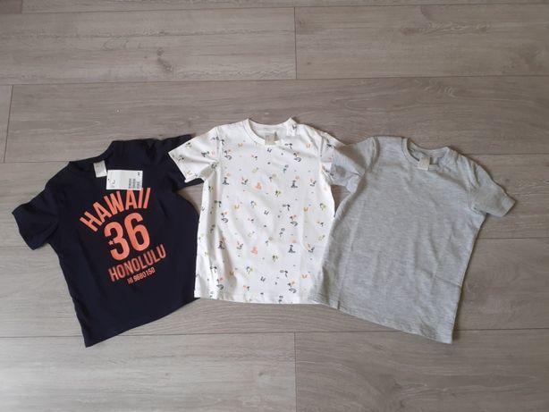 Nowy 3 pak koszulek H&M roz 92