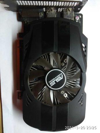 Видеокарта GEFORCE ASUS GTX1050-2G
