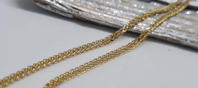 ŚLICZNA złota bransoletka LISI OGON pr.585 14k idealna na prezent!