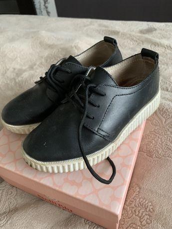 Кожаные туфли 30-31