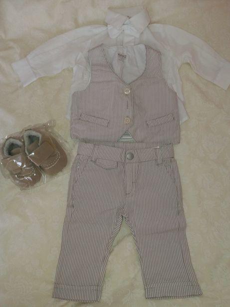 Kanz нарядный костюм костюмчик копмлект для крестин и не только