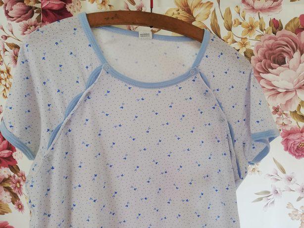 Bawełniana koszula do karmienia