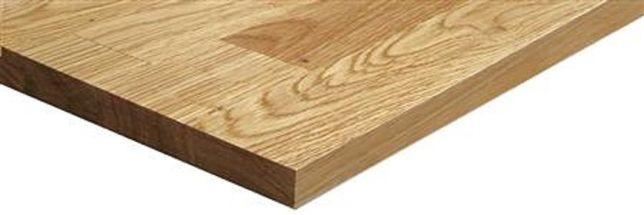 Blat lity dąb kuchenny drewniany 40x800x3000mm