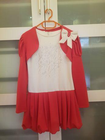 Платье с болеро, размер 128