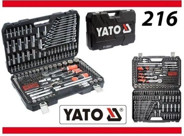 Yato 216 шт. набор инструментов Ято набір ключів інструментів ключи
