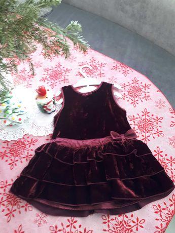 Продам новое детское платье-сарафан 1 год H&M
