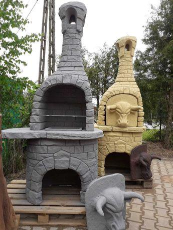grill ogrodowy betonowy , kominek