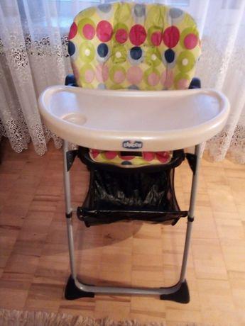 Детский стульчик Chicco для кормления в хорошем состоянии